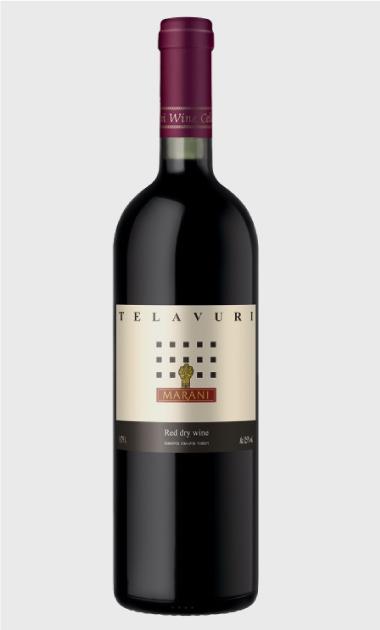 Wino Marani Telavuri czerwone wytrawne