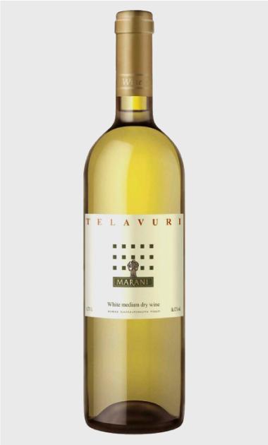 Wino Marani Telavuri białe półwytrawne