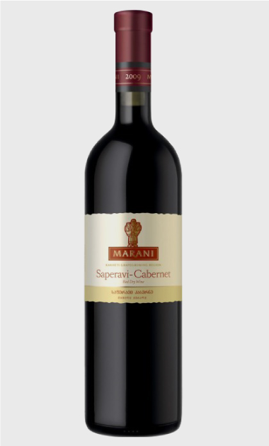 Wino Marani Saperavi-Cabernet