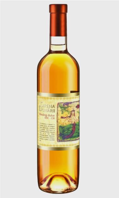 Wino Vinarte Sirena Dunarii Riesling 2001