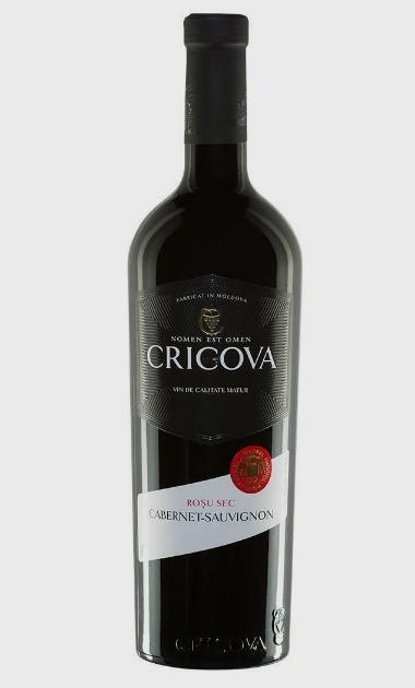 Wino Cricova Cabernet-Sauvignon 2012