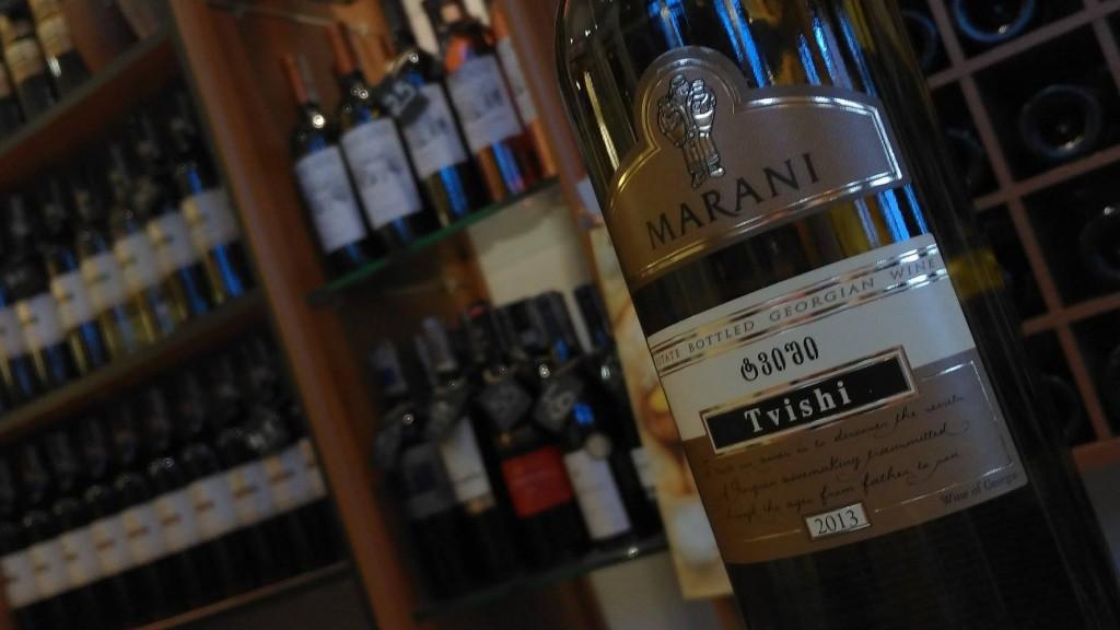 Wino gruzińskie Tvishi