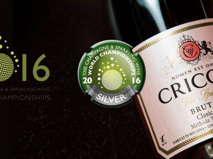 Cricova Rose Brut na liście najlepszych win musujących na świecie